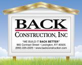 BACK Construction, Inc.