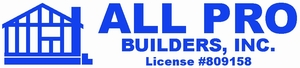 All Pro Builders, Inc.