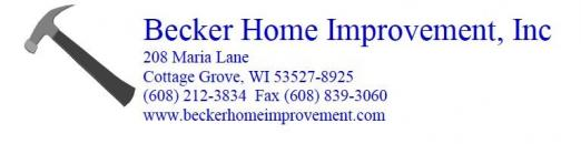 Becker Home Improvement, Inc.